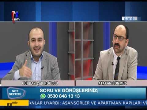 Atakan Sönmez ile Not Defteri / Türkiye'de Sağ Siyaset (03 06 2020)