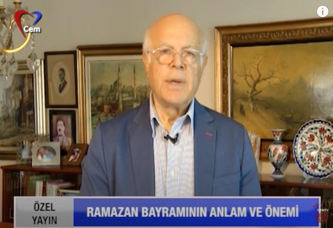 Cem Vakfı Genel Başkanı ve AVF Onursal Bşk. Prof. Dr. İzzettin Doğan'ın Bayram Mesajı