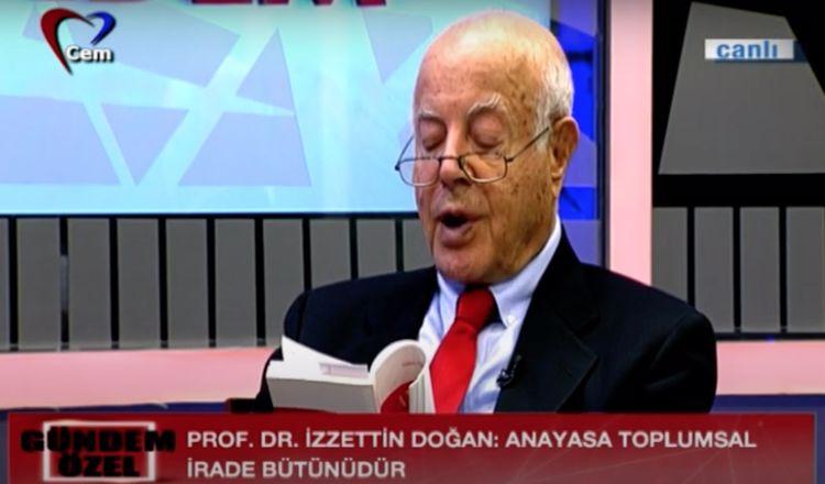 Prof Dr İzzettin Doğan ile Gündem Özel