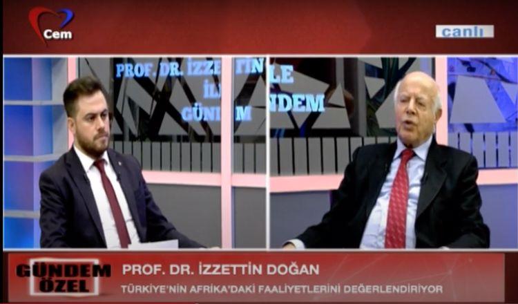 Türkiye'nin Afrika ve Orta Doğu Politikaları | Prof. Dr. İzzettin Doğan ile Gündem Özel