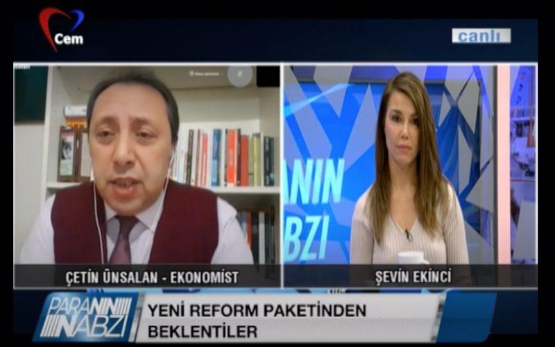 Yeni Reform Paketlerinden Beklentiler | Şevin Ekinci ile Paranın Nabzı | Çetin Ünsalan